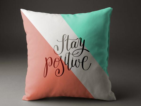 realistic pillow mockup