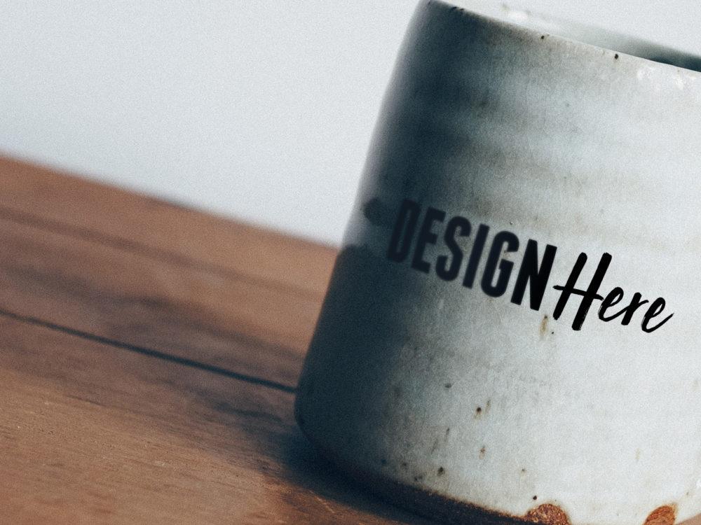 vintage mug mockup
