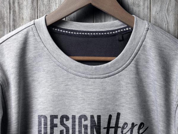 sweatshirt closeup mockup