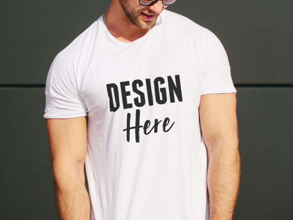 realistic shirt mockup