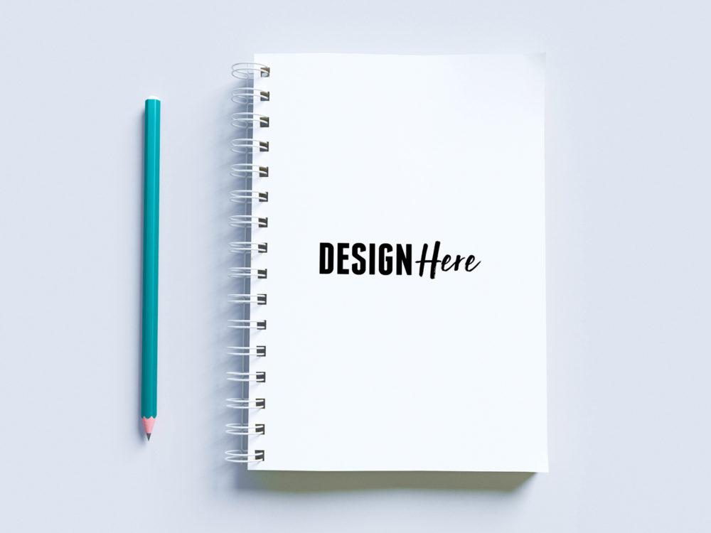 White Notepad Mockup