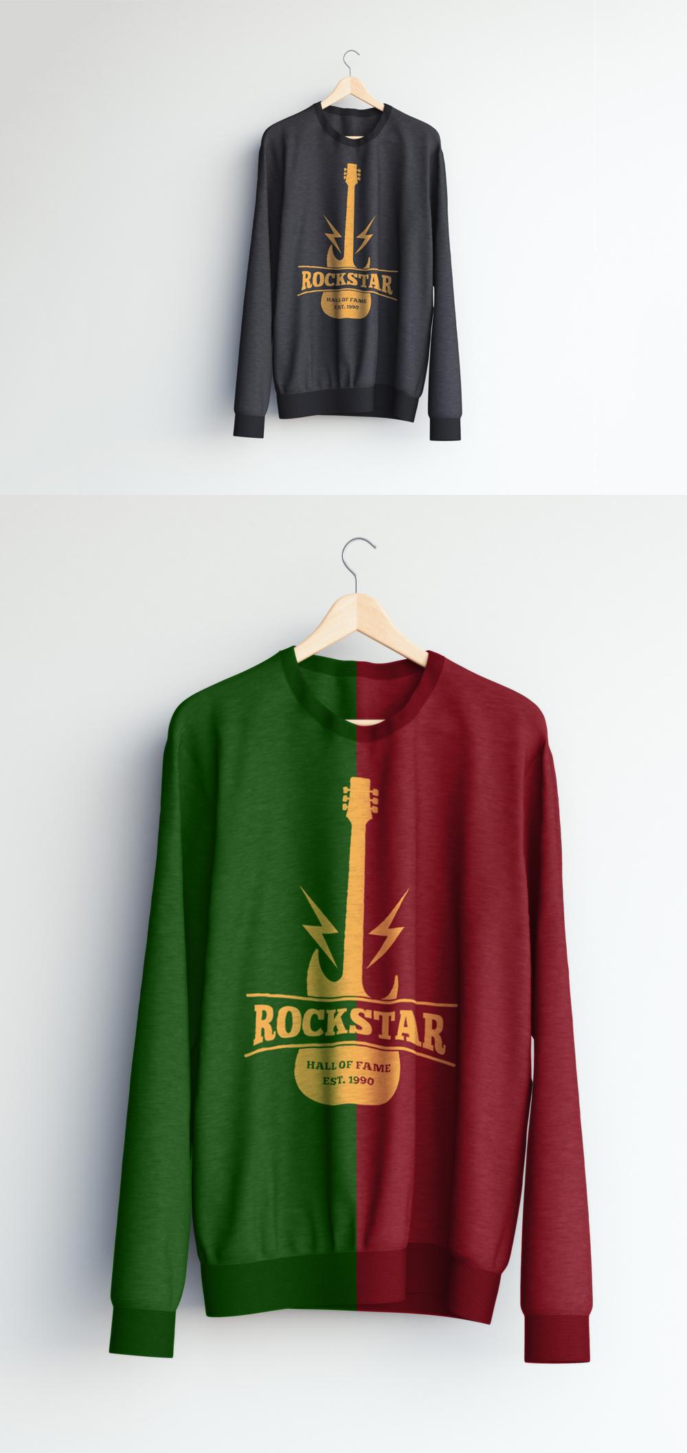 Realistic Sweater Mockup