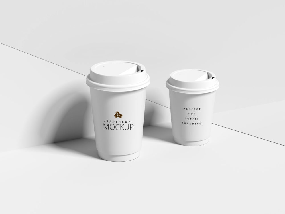 Coffee Cup Mockup - PSD Mockup - GraphicXtreme - Download Now