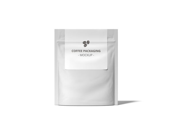 Coffee Packet Mockup