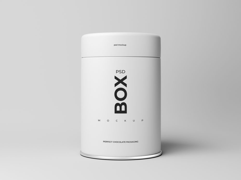 Container Box Mockup