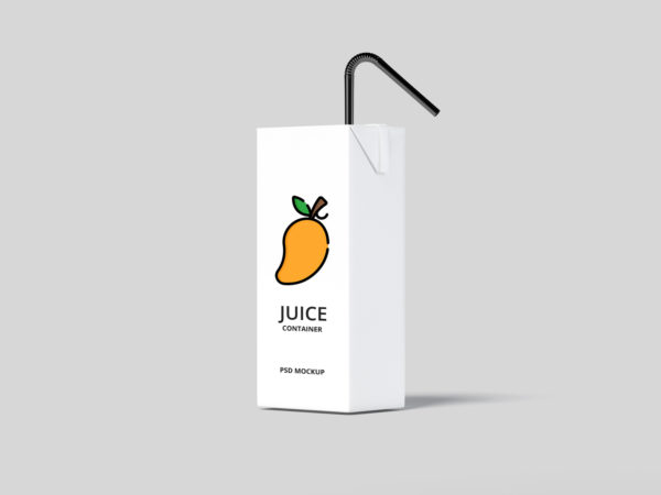 Juice Container Mockup