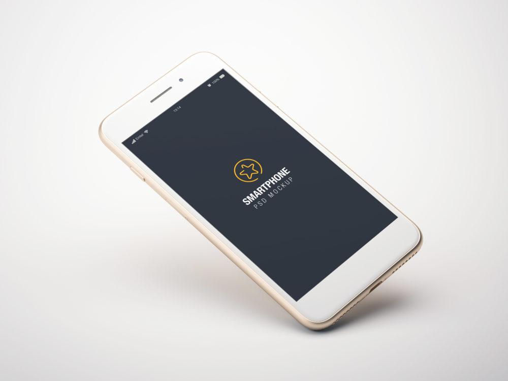Smartphone Screen Mockup