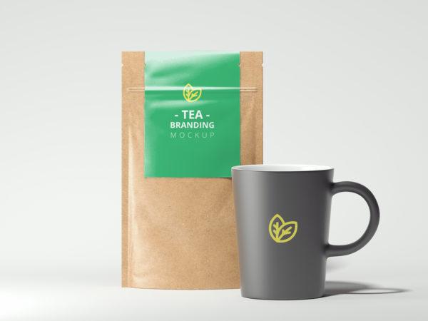Tea Branding Mockup