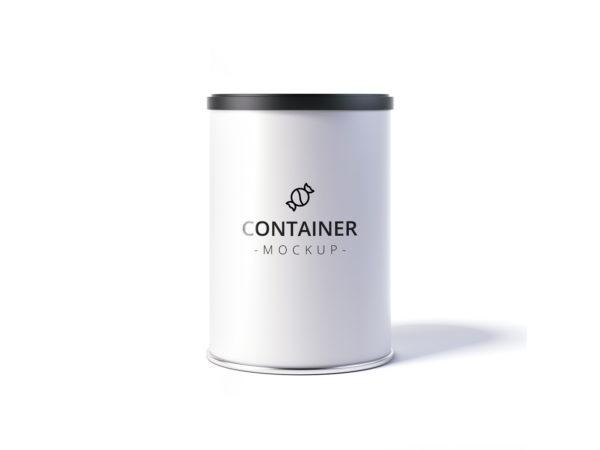 Treats Container Mockup