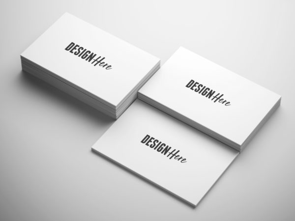 Carte De Visite Business Card Mockup