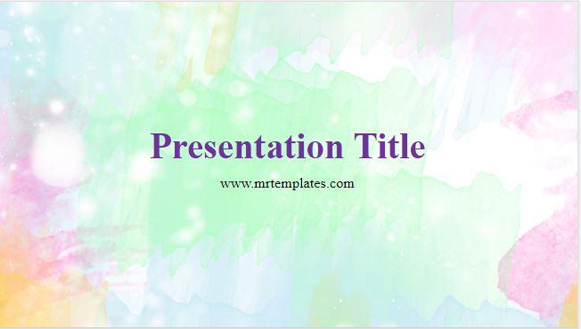 Pastel PowerPoint Background