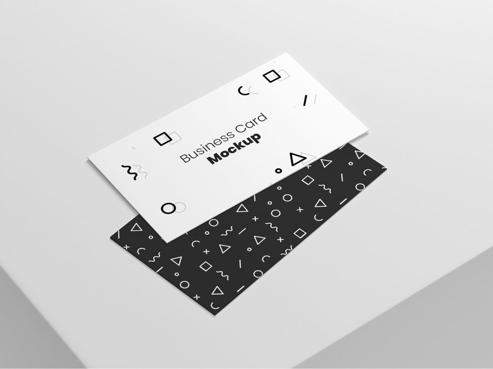 Minimal Business Card Mockups