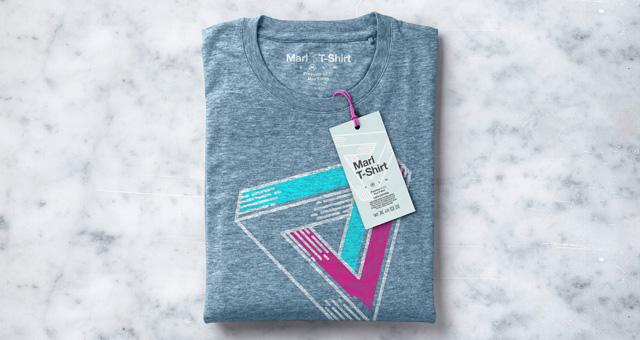 Folded Marl T-Shirt