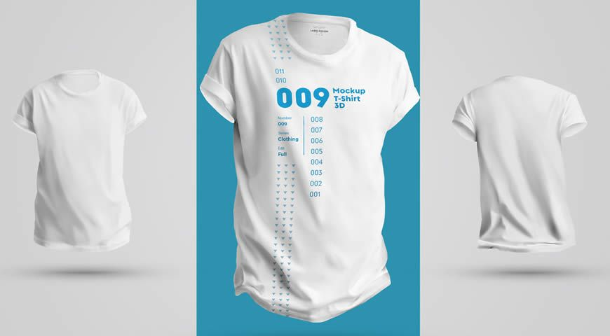White Front and Back T-Shirts