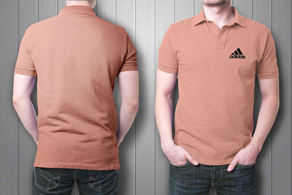 Front and Back Collar T-Shirt