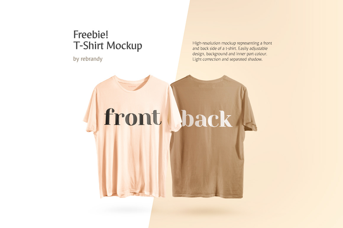 PSD Front and Back T-Shirt