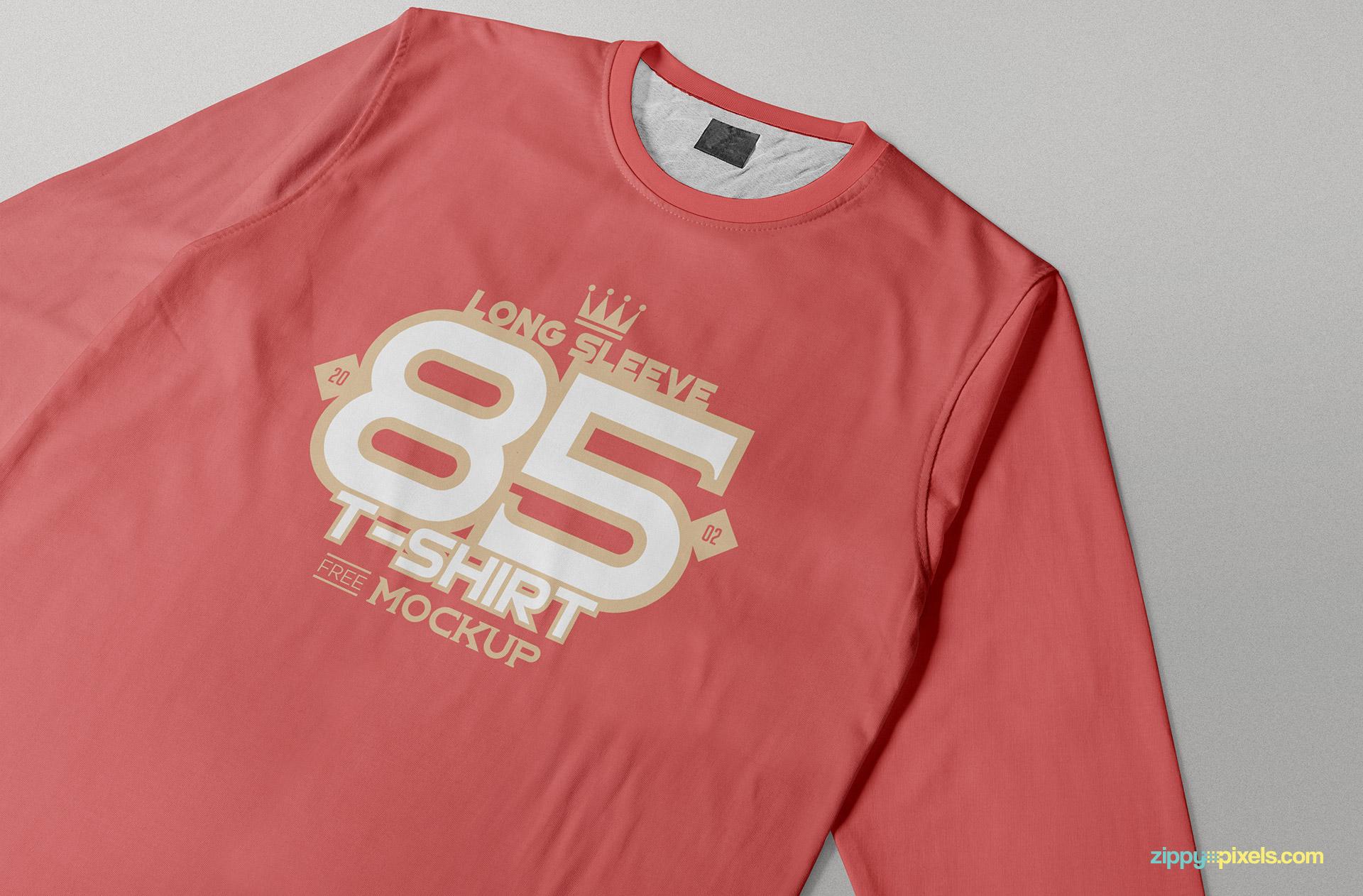 Close-up Long Sleeve T-Shirt