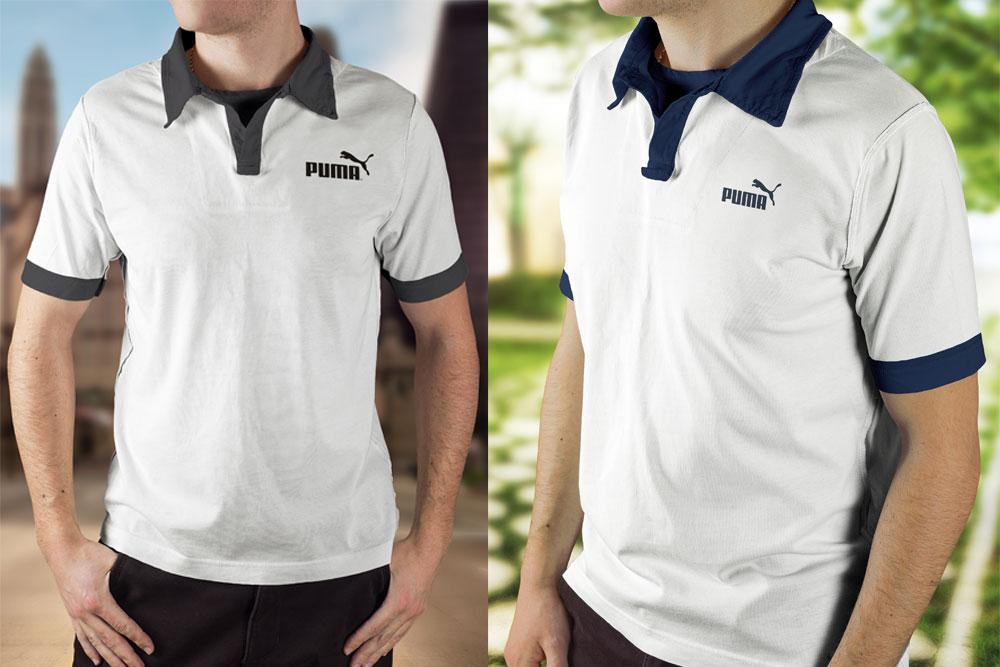 Polo Shirts for Men Mockup