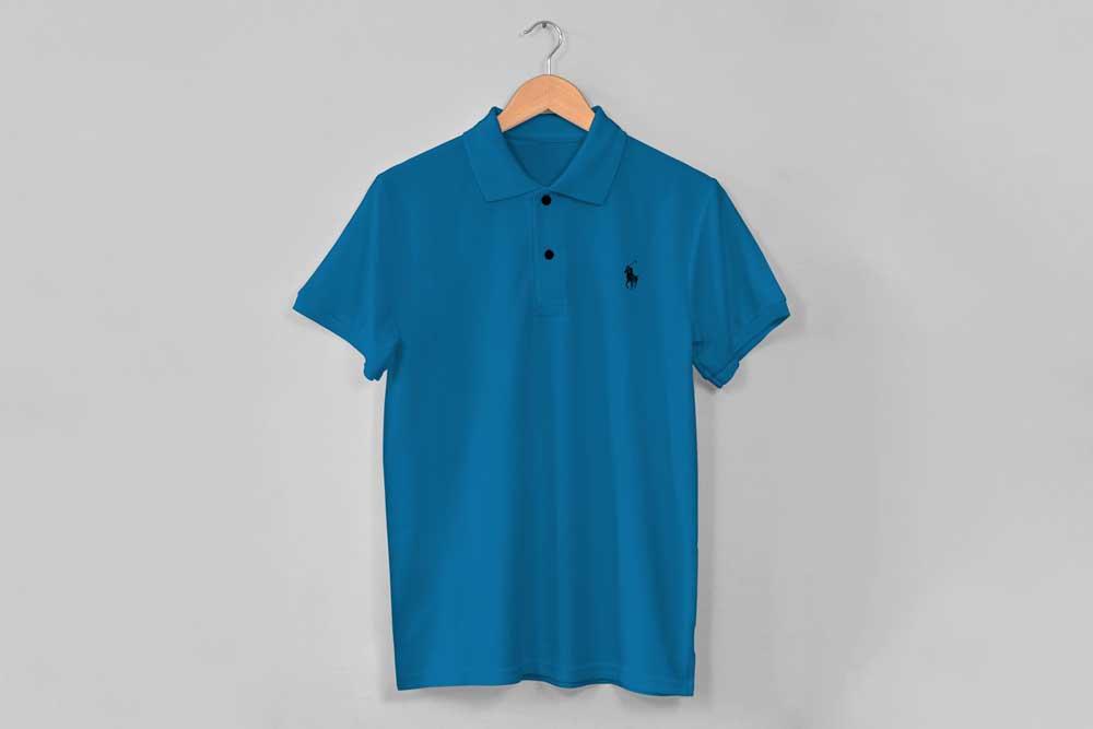 Simple Polo Shirt Mockup