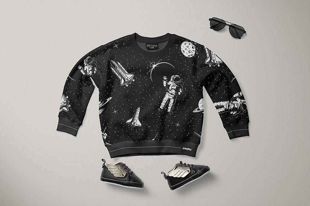 Baby Sweatshirt Mockup