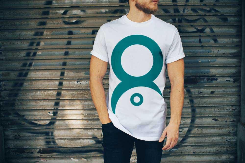 PSD White T-Shirt Mockup